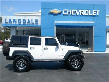 2013 Jeep Wrangler Unlimited for sale in Moultrie, GA