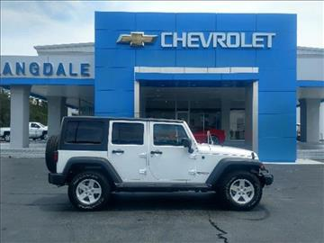 2016 Jeep Wrangler Unlimited for sale in Moultrie, GA