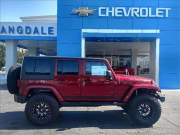 2012 Jeep Wrangler Unlimited for sale in Moultrie GA