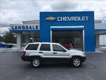 2004 Jeep Grand Cherokee for sale in Moultrie, GA