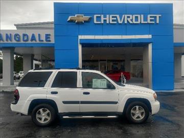 2005 Chevrolet TrailBlazer for sale in Moultrie GA