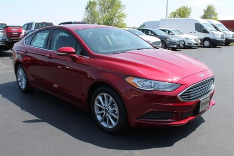 2017 Ford Fusion for sale in Evansville, WI