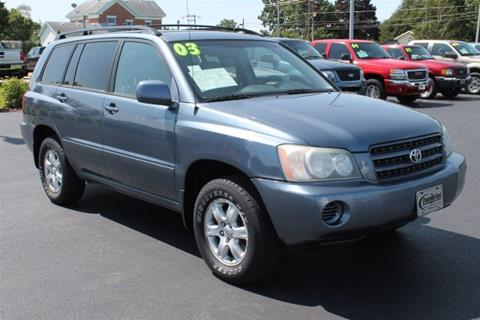 2003 Toyota Highlander for sale in Evansville, WI