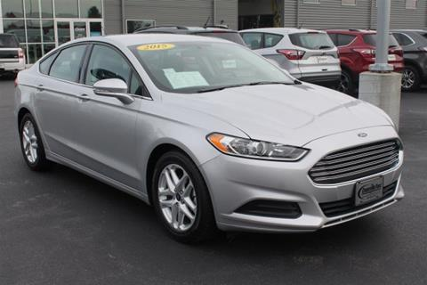 2015 Ford Fusion for sale in Evansville WI