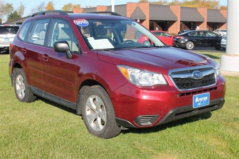 2015 Subaru Forester for sale in Monroe, WI