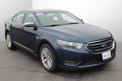 2016 Ford Taurus for sale in Monroe, WI