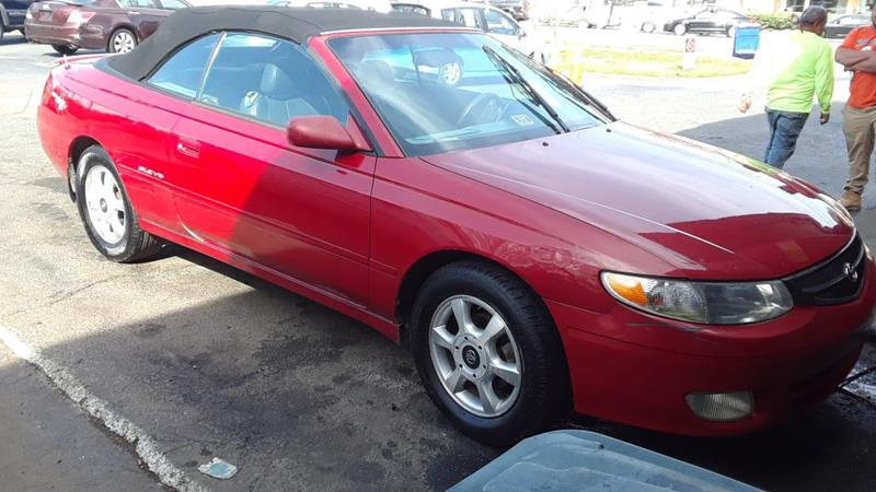 2001 Toyota Camry Solara For Sale At Bahia Auto Sales U0026 Service In Norfolk  VA