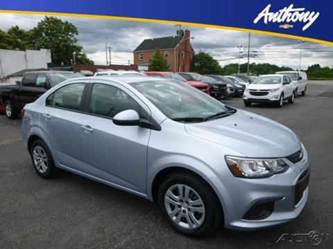 2017 Chevrolet Sonic for sale in Fairmont WV