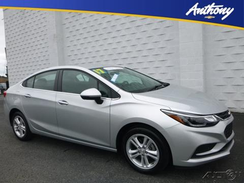 2017 Chevrolet Cruze for sale in Fairmont, WV
