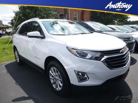 2018 Chevrolet Equinox for sale in Fairmont, WV