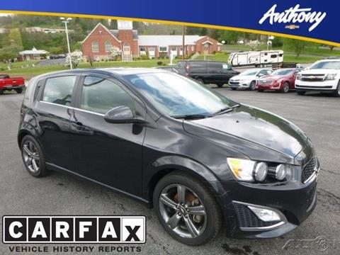 2013 Chevrolet Sonic for sale in Fairmont, WV