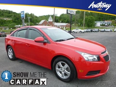 2014 Chevrolet Cruze for sale in Fairmont WV