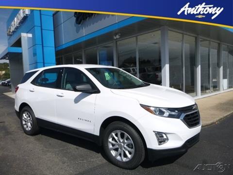 2018 Chevrolet Equinox for sale in Fairmont WV