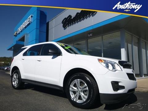 2012 Chevrolet Equinox for sale in Fairmont, WV