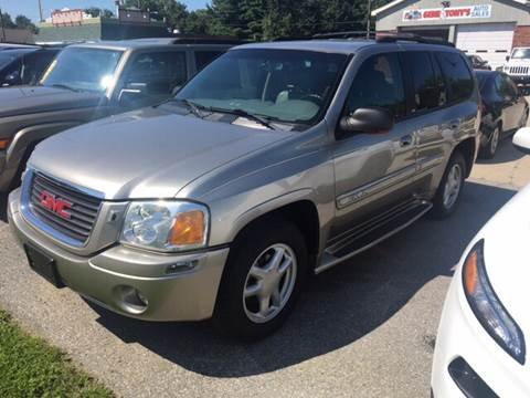 2002 GMC Envoy for sale at GENE AND TONYS DEMOTTE AUTO SALES in Demotte IN