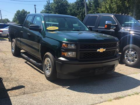 2015 Chevrolet Silverado 1500 for sale at GENE AND TONYS DEMOTTE AUTO SALES in Demotte IN