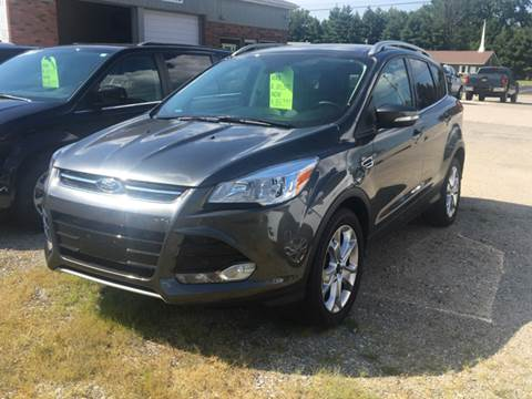 2016 Ford Escape for sale at GENE AND TONYS DEMOTTE AUTO SALES in Demotte IN
