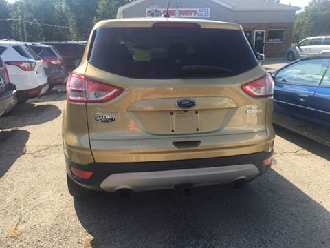 2014 Ford Escape for sale at GENE AND TONYS DEMOTTE AUTO SALES in Demotte IN
