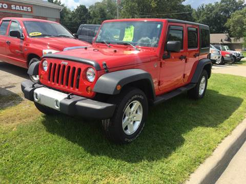 2011 Jeep Wrangler Unlimited for sale at GENE AND TONYS DEMOTTE AUTO SALES in Demotte IN