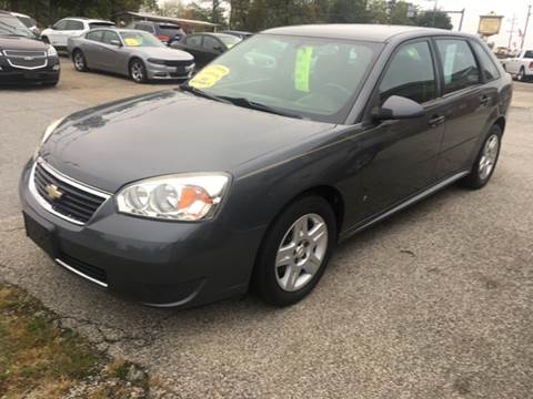 2007 Chevrolet Malibu Maxx for sale at GENE AND TONYS DEMOTTE AUTO SALES in Demotte IN