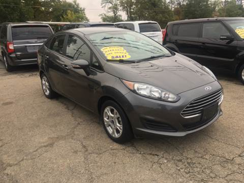 2016 Ford Fiesta for sale at GENE AND TONYS DEMOTTE AUTO SALES in Demotte IN