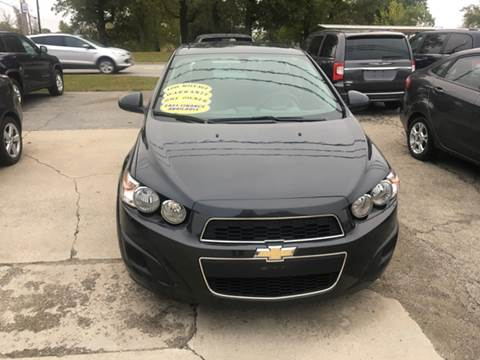 2015 Chevrolet Sonic for sale at GENE AND TONYS DEMOTTE AUTO SALES in Demotte IN