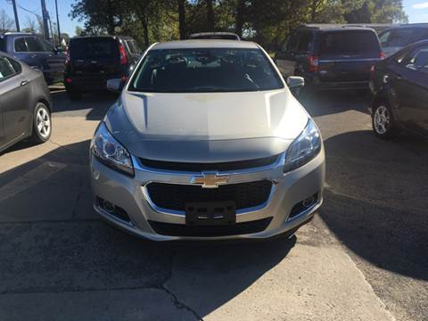 2015 Chevrolet Malibu for sale at GENE AND TONYS DEMOTTE AUTO SALES in Demotte IN