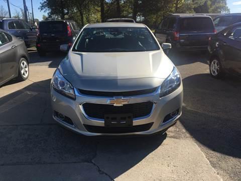 2015 Chevrolet Malibu for sale in Demotte, IN