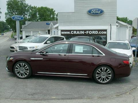 2017 Lincoln Continental for sale in Warren IN