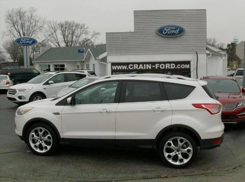 2014 Ford Escape for sale in Warren IN