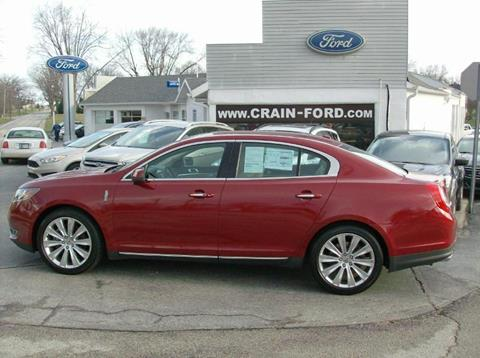 2014 Lincoln MKS for sale in Warren, IN