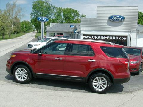 2014 Ford Explorer for sale in Warren, IN