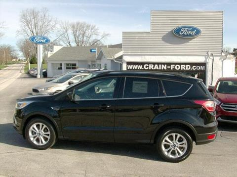2017 Ford Escape for sale in Warren, IN