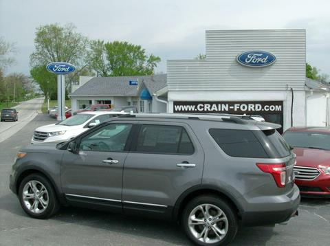 2013 Ford Explorer for sale in Warren, IN
