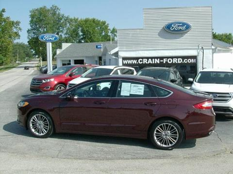 2013 Ford Fusion for sale in Warren, IN