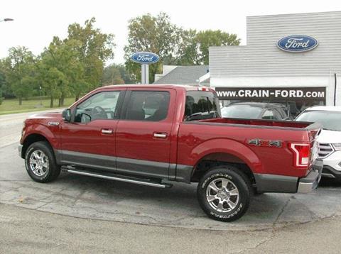 2016 Ford F-150 for sale in Warren IN