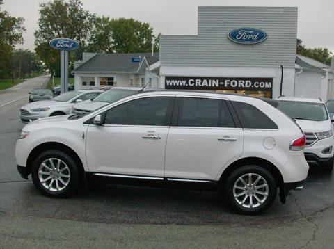 2013 Lincoln MKX for sale in Warren, IN