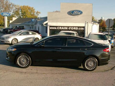 2014 Ford Fusion for sale in Warren, IN