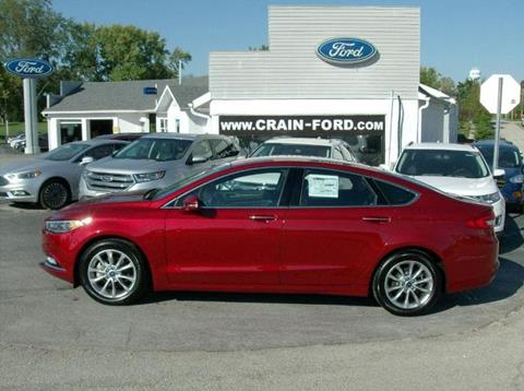 2017 Ford Fusion for sale in Warren, IN