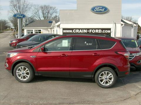 2018 Ford Escape for sale in Warren, IN
