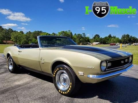Used 1968 Chevrolet Camaro For Sale In North Carolina