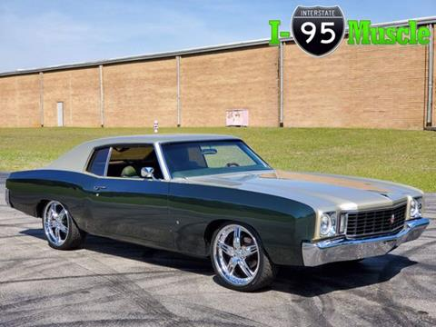 1972 Chevrolet Monte Carlo for sale in Hope Mills, NC