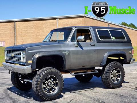 1987 Chevrolet Blazer for sale in Hope Mills, NC
