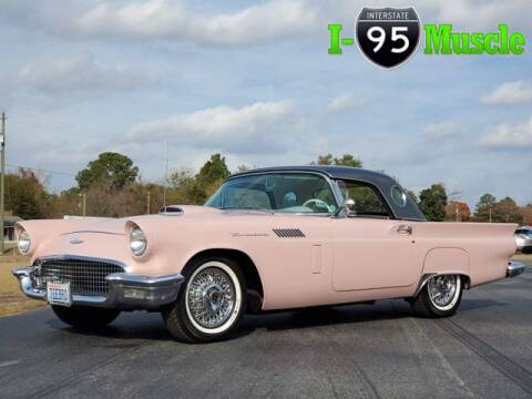 1957 Ford Thunderbird for sale at I-95 Muscle in Hope Mills NC