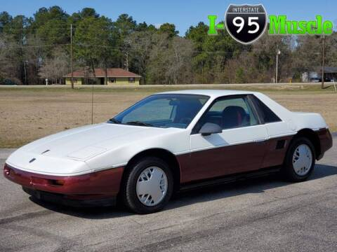 1987 Pontiac Fiero for sale at I-95 Muscle in Hope Mills NC