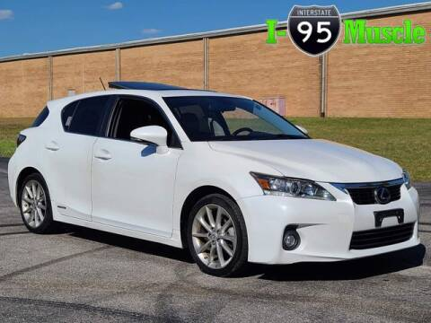 2013 Lexus CT 200h for sale at I-95 Muscle in Hope Mills NC