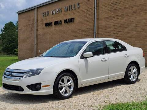 2012 Ford Fusion for sale at I-95 Muscle in Hope Mills NC