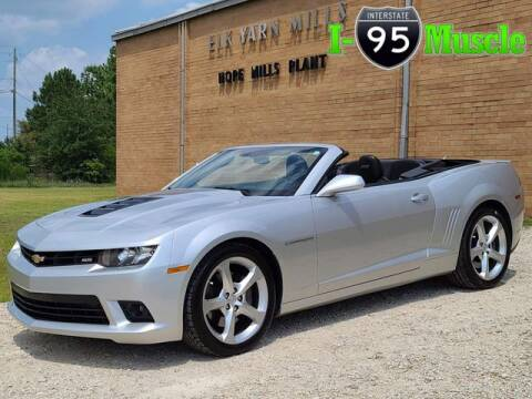 2015 Chevrolet Camaro for sale at I-95 Muscle in Hope Mills NC