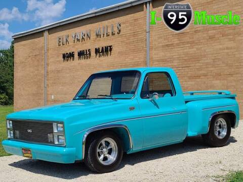 1981 Chevrolet C/K 10 Series for sale at I-95 Muscle in Hope Mills NC