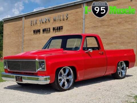 1979 Chevrolet C/K 10 Series for sale at I-95 Muscle in Hope Mills NC